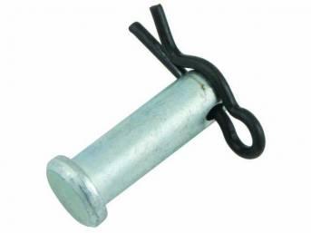 PIVOT PIN, PARKING BRAKE CABLE PULLEY