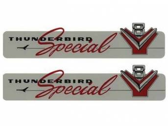 DECAL SET, VALVE COVER SPECIAL