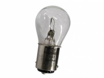 BULB, CLEAR, DUAL CONTACT