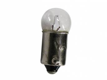BULB, CLEAR, SINGLE CONTACT