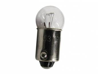 BULB, 53X, SPECIAL VARIANT, CLEAR