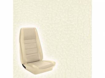 UPHOLSTERY SET STANDARD BUCKET WHITE non-original replacement for