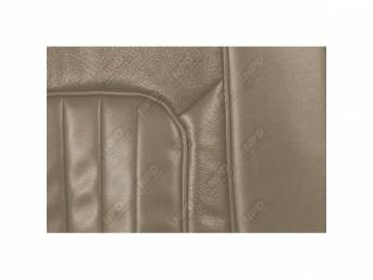 UPHOLSTERY SET, Front Bucket Seats, XR-7, light aqua,
