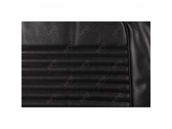 UPHOLSTERY SET, Front Bucket Seats, black, repro, front
