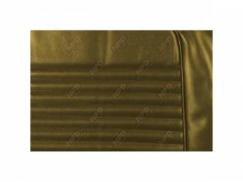 UPHOLSTERY SET, Front Bucket Seats, light nugget gold,
