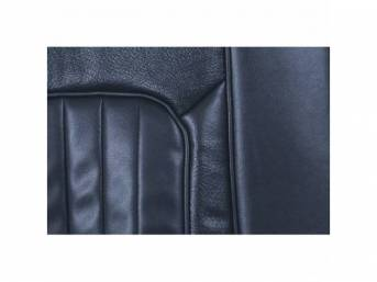 UPHOLSTERY SET, Front Bucket Seats, XR-7, dark blue,