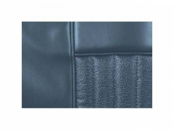 UPHOLSTERY SET, Front Bucket Seats, Decor, light blue,