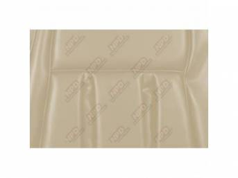 UPHOLSTERY SET, Front Bucket Seats, XR-7, white, repro,