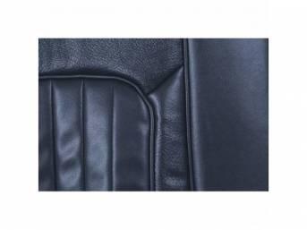 UPHOLSTERY SET, Rear Seat, XR-7, dark blue, repro,