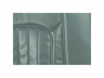 UPHOLSTERY SET, Rear Seat, XR-7, light aqua, repro,