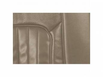 UPHOLSTERY SET, Rear Seat, XR-7, parchment, repro, rear