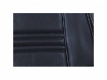 UPHOLSTERY SET, Rear Seat, medium blue, repro, rear