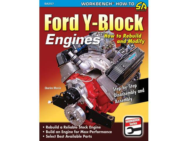BOOK, FORD Y-BLOCK ENGINES How to Rebuild and