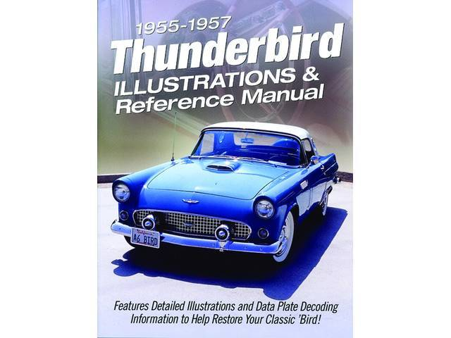BOOK, T-BIRD PARTS ILLUSTRATED, EXPLODED PARTS VIEWS, 126