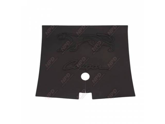 TRUNK MAT RUBBER BLACK CAT HEAD COUGAR XR-7
