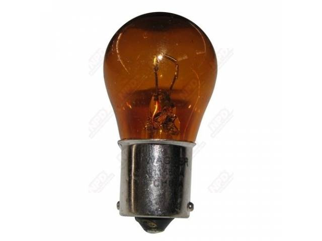 BULB AMBER SINGLE CONTACT