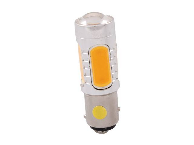 BULB, 1157, YELLOW PLASMA LED