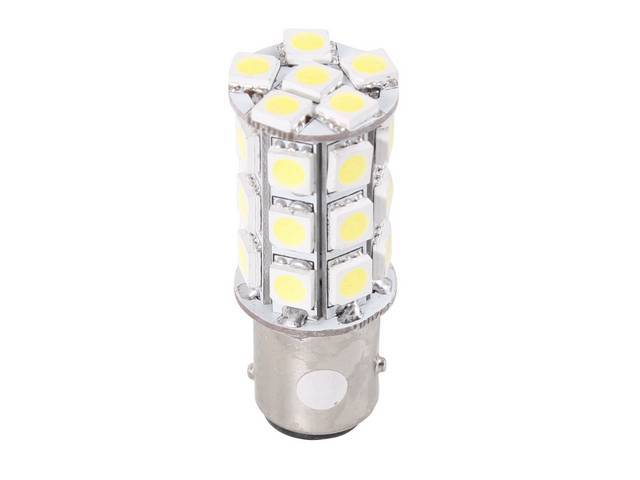 BULB, 1157, WHITE LED