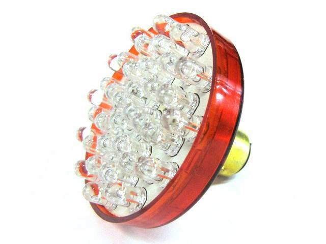 BULB, 1157, RED LED, 30 DIODES