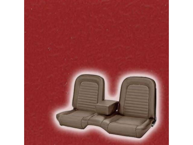 UPHOLSTERY FRONT BENCH ONLY STANDARD BRIGHT RED
