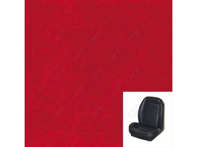 UPHOLSTERY SET, Sport Seat II, Standard style, bright