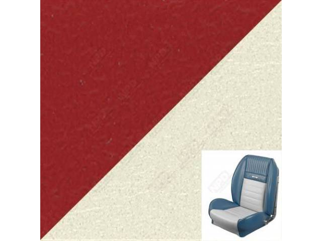 UPHOLSTERY SET Sport Seat II Standard style bright