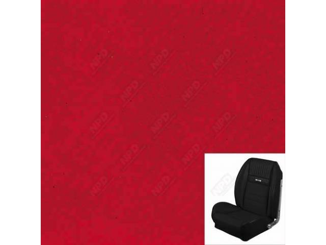 UPHOLSTERY SET, Sport Seat II, Deluxe Pony style,