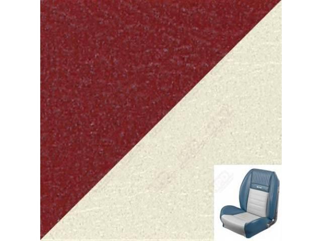 UPHOLSTERY SET, SPORT SEAT II, DELUXE PONY STYLE