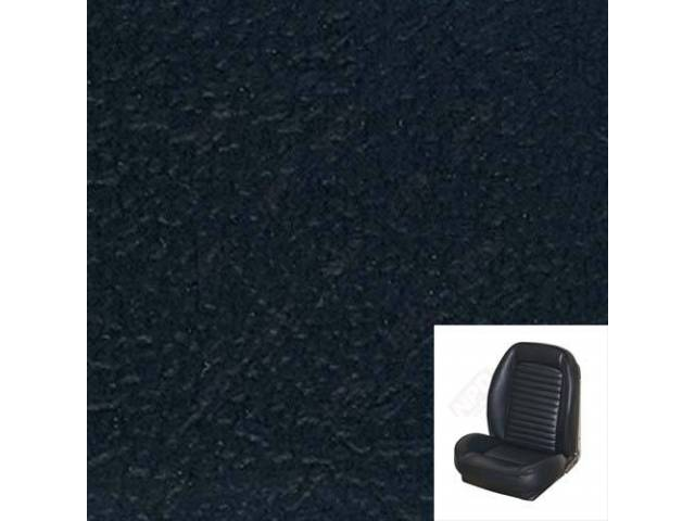 Upholstery Set, Sport Seat Ii, Standard Style, Black,