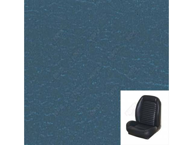 UPHOLSTERY SET, Sport Seat II, Standard style, blue.