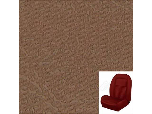 Upholstery Set Sport Seat Ii Standard Style Saddle