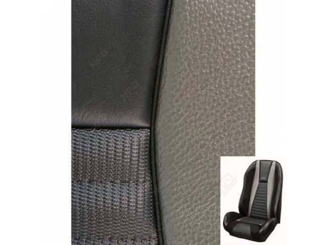 UPHOLSTERY SET, Sport R, Mach 1 style, charcoal