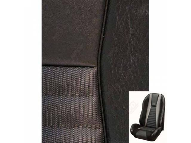 UPHOLSTERY SET Sport R Mach 1 style charcoal