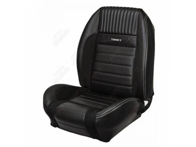 Upholstery Set Sport R Deluxe Pony Style charcoal