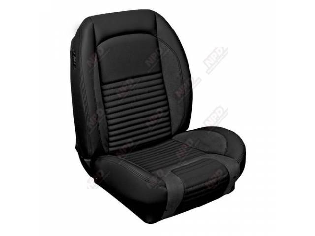 UPHOLSTERY SET Sport R Standard style charcoal black