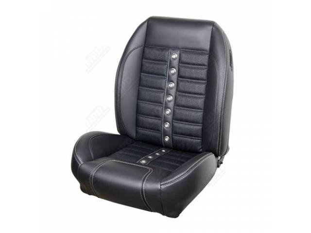 UPHOLSTERY SET Sport X matte black vinyl and