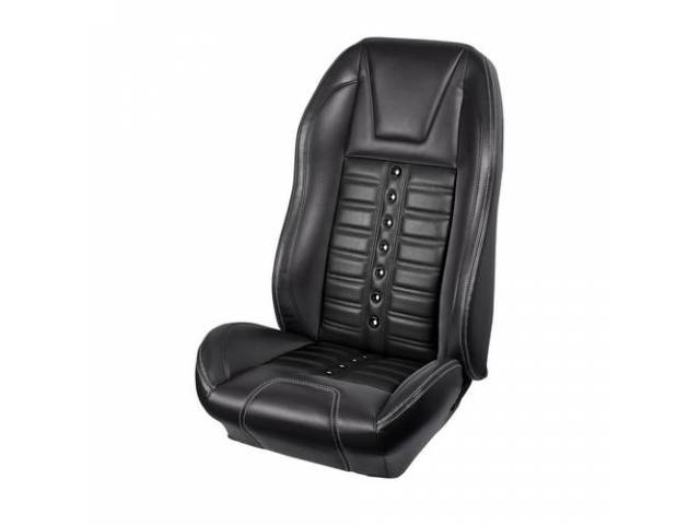 UPHOLSTERY SET, Sport X, matte black vinyl and