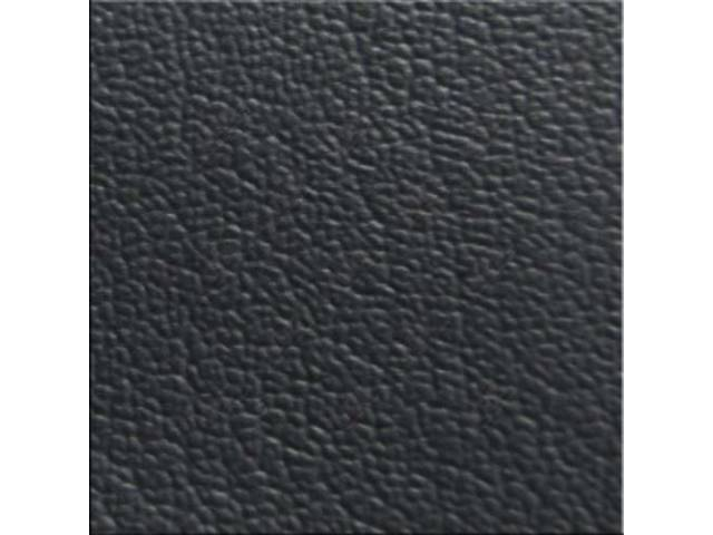 VINYL YARDAGE BLACK CORINTHIAN GRAIN 54 INCH X