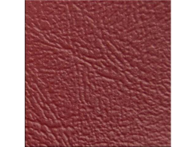 VINYL YARDAGE BRIGHT RED SIERRA GRAIN 54 INCH