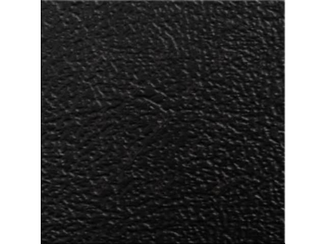 VINYL YARDAGE BLACK SIERRA GRAIN 54 INCH X