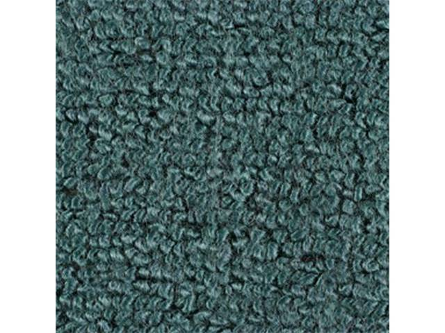 CARPET, Raylon Weave, aqua, This carpet is fitted