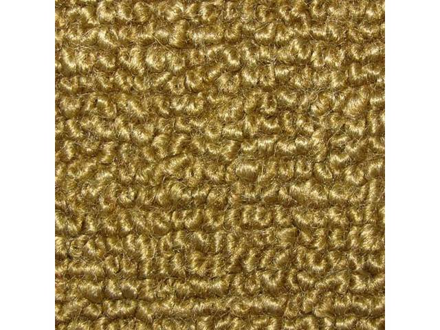 CARPET, Raylon Weave, nugget gold, mass backed, This
