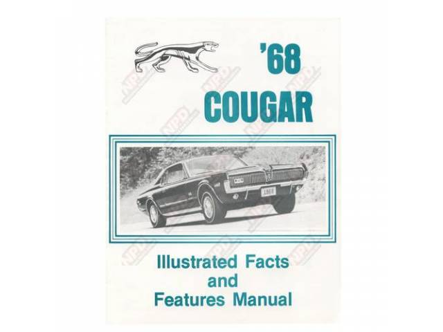FACTS BOOK 1968 Illustrated Facts and Features A
