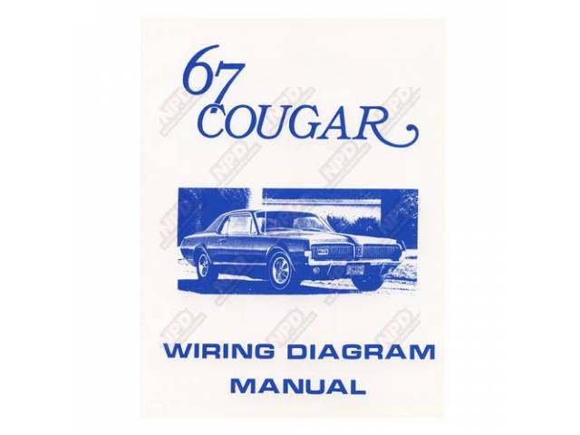 BOOK Wiring Diagram 1967 reprint of the diagram