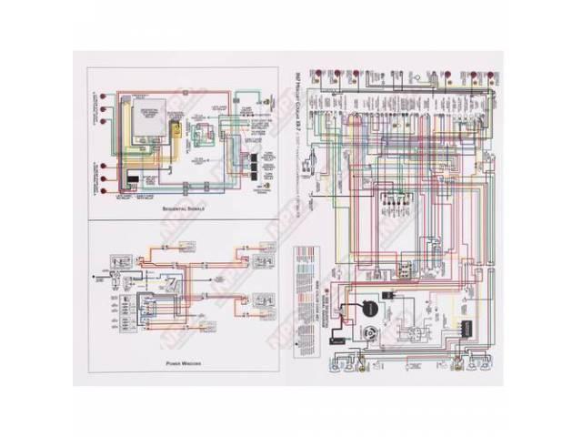 Wiring Diagram 67 Xr-7 Mat Full Color 17 -  W-lwd-67xm
