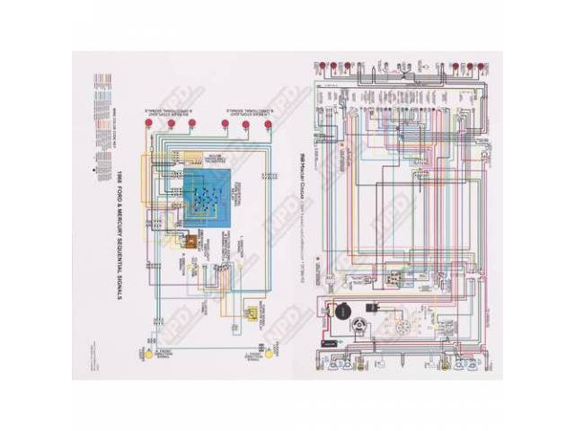 Wiring Diagram 68 Mat Full Color 17 1  2