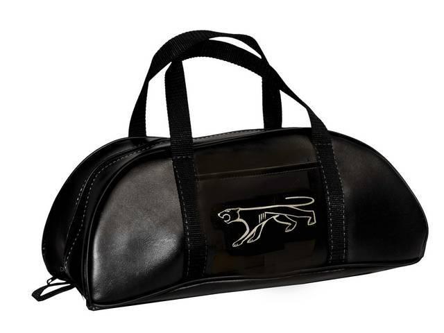 TOTE BAG Large Cougar logo black