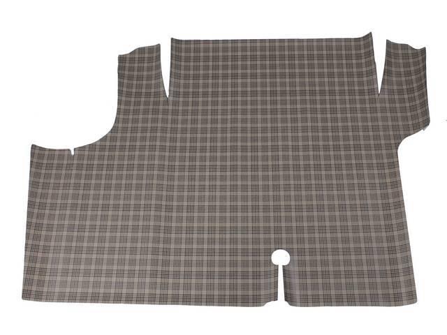 TRUNK MAT PVC Vinyl plaid Heavy grade material