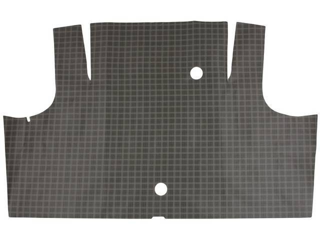 TRUNK MAT Vinyl plaid Soft vinyl with fleece