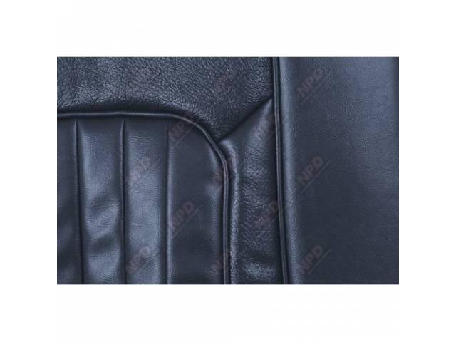 UPHOLSTERY SET Bucket Seat XR-7 dark blue repro